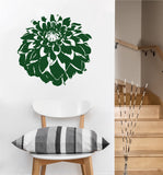 Dahlia Flower Decal | Vinyl Wall Sticker