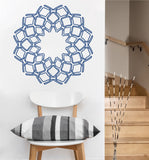 Delicate Geometry Mandala Decal | Vinyl Wall Sticker