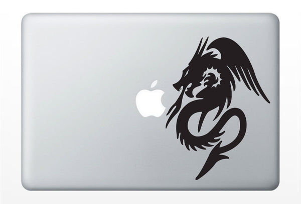 Dragon, magic laptop DECAL- macbook iPad computer vinyl sticker