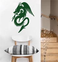 Flying Dragon Decal | Vinyl Wall Decal