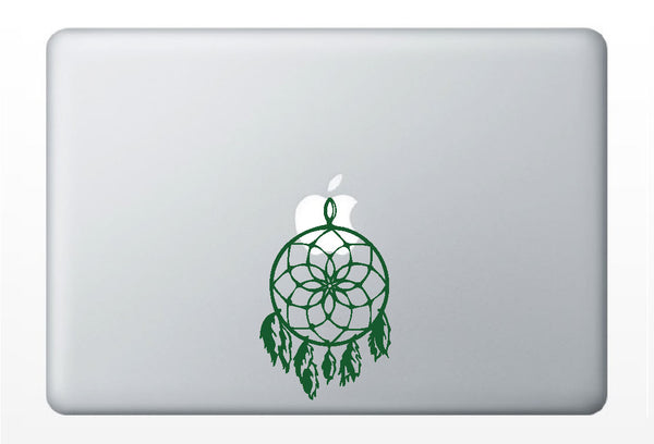 Dream Catcher DECAL- macbook PC computer- vinyl sticker - Native American