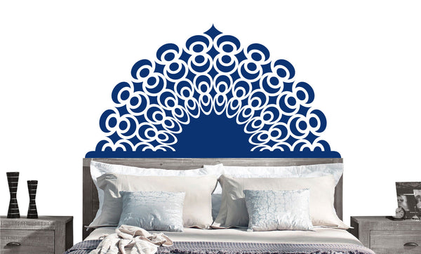 Dreams Headboard Decal- twin, double, full, queen, king- dorm room, bedroom sticker