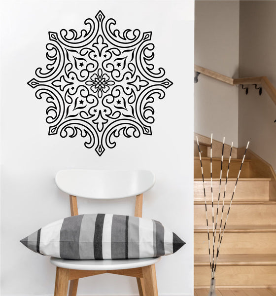 Elegant Mandala Decal | Vinyl Wall Sticker