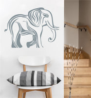 Tribal Elephant Decal | Vinyl Wall Sticker