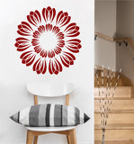 Flower Burst Decal | Vinyl Wall Sticker