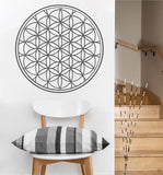 Flower of Life Decal | Sacred Geometry Vinyl Sticker