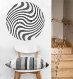 Swirling Orb Decal | Vinyl Wall Decal