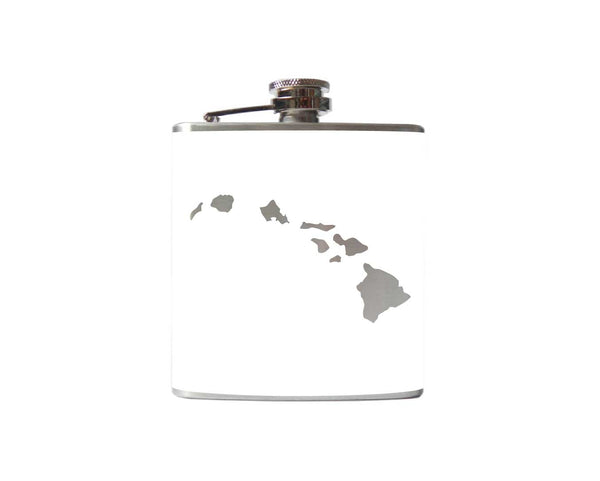 Hawaiian Islands Flask