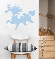 Running Horse Decal | Vinyl Wall Sticker