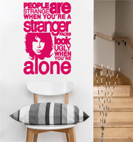 Jim Morrison Decal | The Doors | Vinyl Wall Sticker