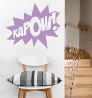 Kapow Decal | Vinyl Wall Sticker