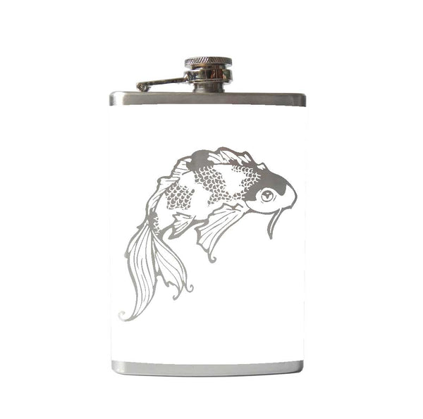 Lucky Koi Fish Flask