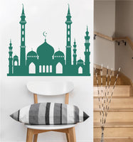 Palatial Mosque Decal | Vinyl Wall Sticker