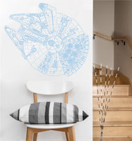 Millennium Falcon Decal | Vinyl Wall Sticker