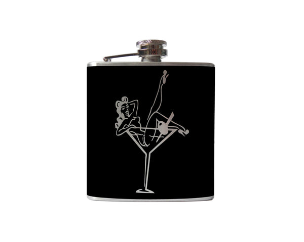 Pinup Girl Flask