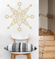 Metatron Star Decal | Sacred Geometry Vinyl Sticker