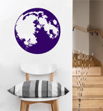 Full Moon Decal | Vinyl Wall Sticker