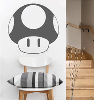 Super Mushroom Decal | Vinyl Wall Sticker