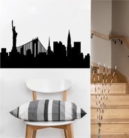 NYC Skyline Decal | Vinyl Wall Sticker