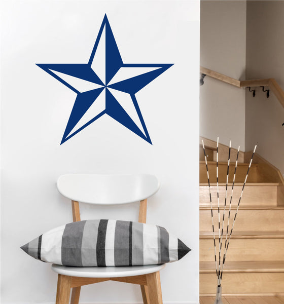 Nautical Star Decal | Vinyl Wall Sticker