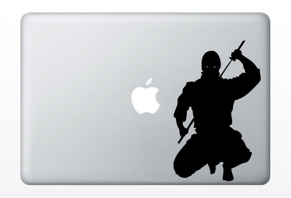 Ninja laptop DECAL- macbook iPad computer- vinyl sticker