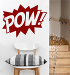 POW Decal | Vinyl Wall Sticker