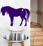Pony with Heart Decal | Vinyl Wall Sticker
