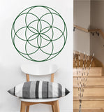 Seed of Life Decal | Sacred Geometry Vinyl Sticker