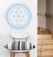 Seed of Life Petals Decal | Sacred Geometry Vinyl Sticker