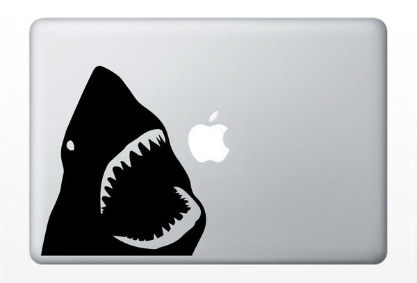 Great White Shark Laptop Decal | Mac PC, Car, Computer iPad | vinyl sticker