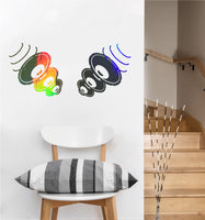 Speakers Decal | Wall Sticker