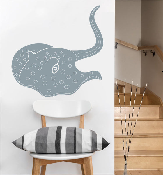 Stingray Decal | Vinyl Wall Sticker
