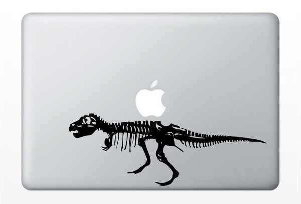 T-Rex Dinosaur laptop DECAL- macbook iPad computer- vinyl sticker