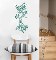 Knotted Tree Decal | Vinyl Wall Sticker