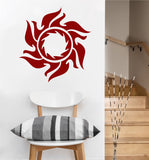 Tribal Sun Decal | Wall Sticker