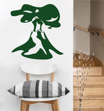 Volcano Decal | Wall Sticker