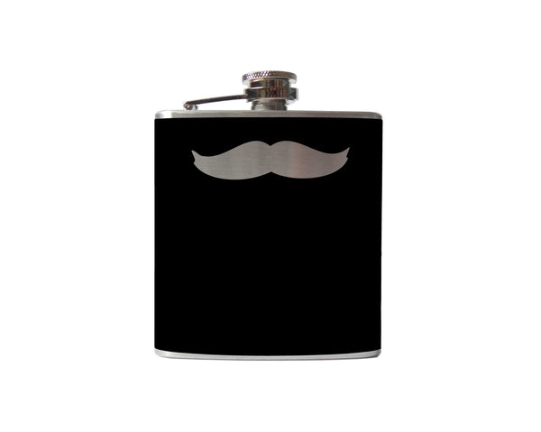 Mustache Flask | Doc Holiday
