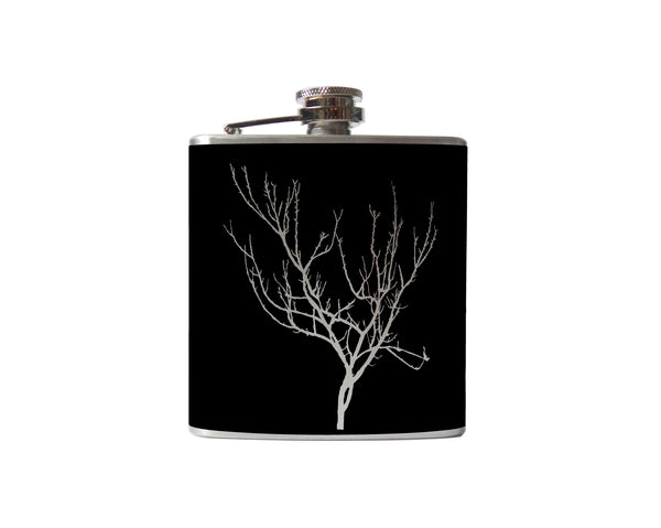 Winter Tree Flask
