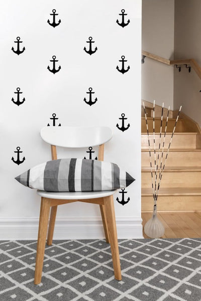 Anchor Decals | Vinyl Wall Pattern