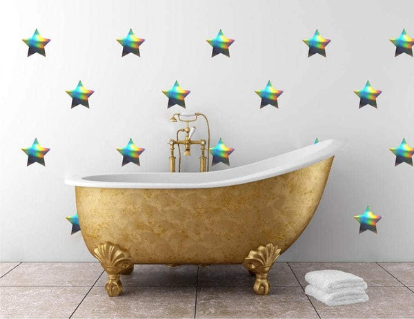 Medium Star Decals | Vinyl Wall Pattern
