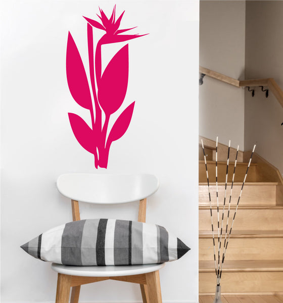 Bird of Paradise Decal | Vinyl Wall Sticker