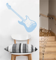 Electric Guitar Decal | Vinyl Wall Sticker