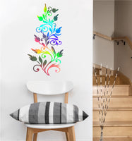 Leafy Vine Decal | Vinyl Wall Sticker