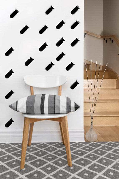 Missile Decals | Vinyl Wall Pattern