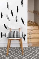 Feather Decals | Vinyl Wall Pattern