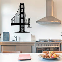 Golden Gate Bridge towards Marin Decal | Vinyl Wall Sticker