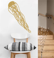 Jellyfish Decal | Vinyl Wall Sticker