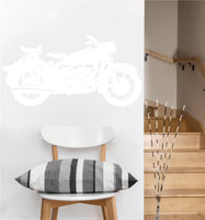 Classic Motorcycle Decal | Vinyl Wall Sticker