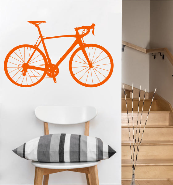 Road Bike Decal | Vinyl Wall Sticker
