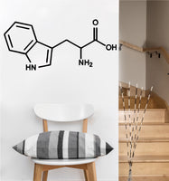 Tryptophan Chemical Compound Decal | Wall Sticker